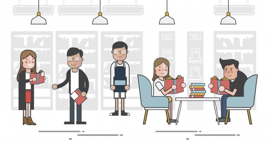 La bibliothèque recrute