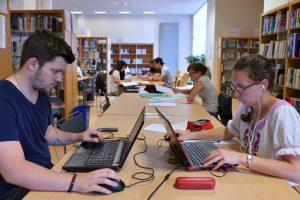 espace de travail, bibliothèque Belfort