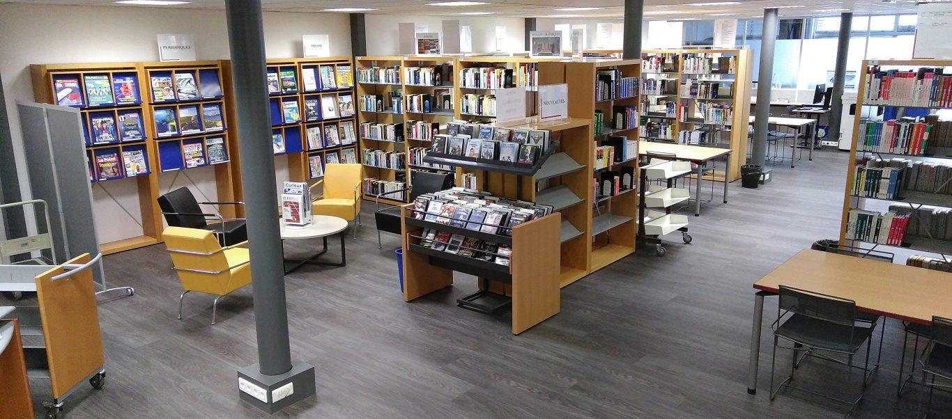 Ouverture le samedi, bibliothèque de Belfort